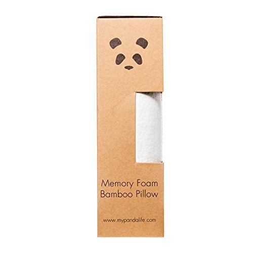 Panda Luxus Memory Foam Gedachtnis Schaum Bambus Kissen Greenora
