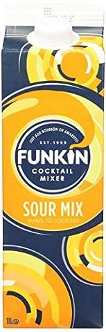 Funkin Sour Mix Cocktail Mixer, 1 L - Case of 6
