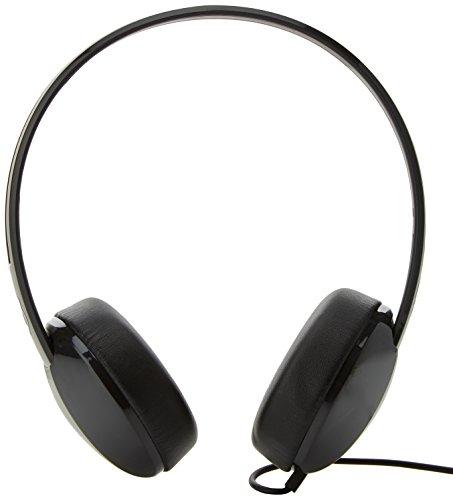 Skullcandy Stim Wired On-Ear Headphone with Mic (Black/Charcoal) Image 2
