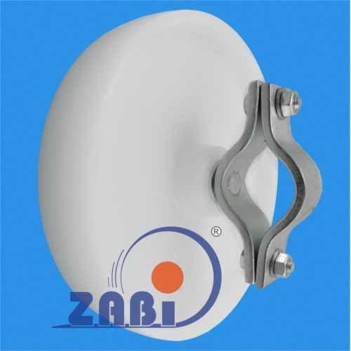 ZAB-S 69BO*42 Rad Rolle für Eventzaun Absperrgitter Bauzaun Ersatzrad Transportrolle (69BO*42)