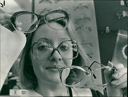 Fotomax Vintage Photo of The New national Health Spectacle Frame.