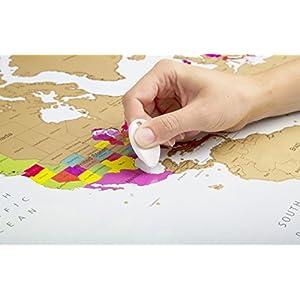 Mapamundi Para Rascar – Deluxe