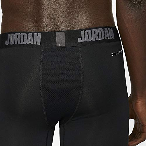 Nike Herren Jordan Dri-FIT 23 Alpha 3/4 Tight, Black/Dark Grey, S
