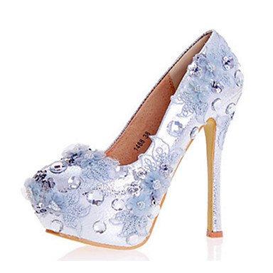 Zormey Frauen Heels Fr¨¹hling Sommer Herbst Komfort Neuheit Lackleder Hochzeit Party & Amp Abendkleid Stiletto Heel Crystal Funkelnden Glitter US5 / EU35 / UK3 / CN34