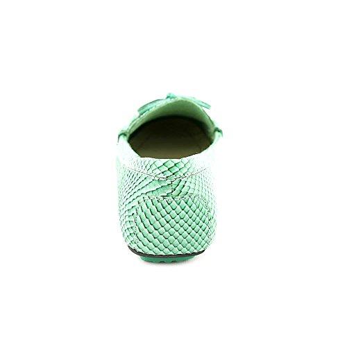 Isaac Mizrahi Alison Cuir Mocassin Medium green