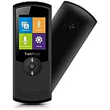 """Portable Genesis AI Sprachübersetzer Simultandolmetscher, 2.4"""" Touch Screen sofortige Sprachübersetzung mit 45 sprachiges, WIFI Voice Translator, - Geeignet für Lernen, Reisen, Einkaufen, Business"""