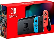 Nintendo Switch Extended Battery Life (Neon Blue and Neon Red) - UAE Version