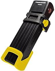 Trelock Faltschloss FS 200-100 Two Go, Halter/Bracket Yellow, 8004174