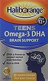 Haliborange Teens Omega-3 DHA Brain Support Orange Chewable Capsules 30 from Haliborange