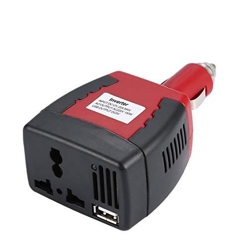 ForceSthrength 12V 220V 150W Wechselrichter DC zu AC 12V zu 110V / 220V Auto Spannungswandler Low-voltage-tv
