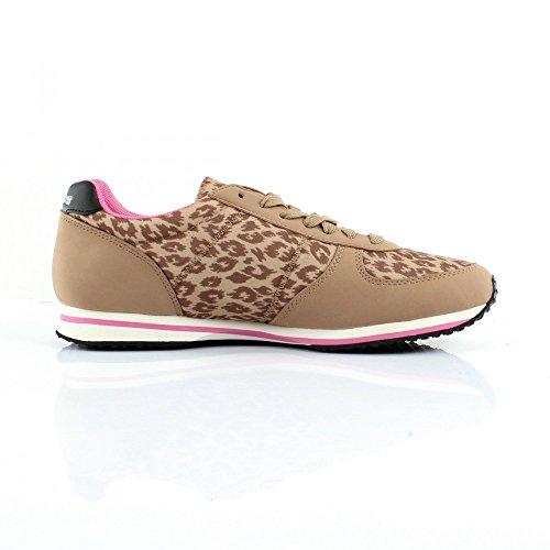 Le Coq Sportif Bolivar W Animal Print, Sneaker basse donna Giallo