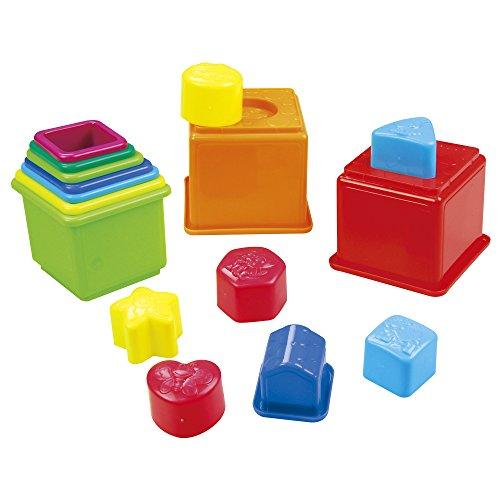 PlayGo - Set cubos apilables figuras geométricas