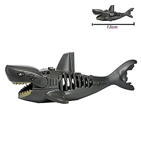Hot Minifigure Building Block Caribbean Shark 13 cm Figure Collectible Toy