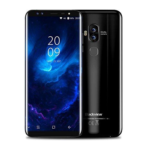 "Preisvergleich Produktbild Handy Smartphone Ohne Vertrag Blackveiw S8 3G Android7.0 Neu Smartphone ,5.7 ""HD ,1.5GHZ Octa Core,4GB RAM 64GB ROM,Dual SIM ,13MP+0.3MP 4 Kamera, 3180mah mit Fingerabdruck ID Sensor (Schwarz)"