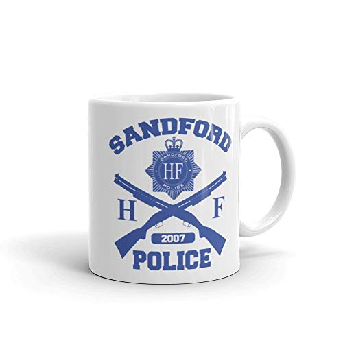 Meta Cortex Hot Fuzz - Sandford Police Cornetto Trilogy Movie Becher Tasse - Hot Fuzz-t-shirt