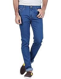 Raa Jeans Mens Denim Slim Fit Acid Washed Jeans