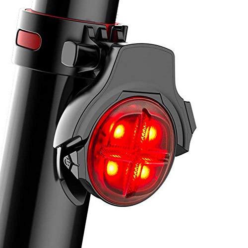 MUTANG USB aufladbare Fahrrad Rücklicht, super helle Smart Bike Rücklicht mit Bremse Sensing Fahrrad Rückleuchten Led, Clip auf Fahrrad Rückleuchten montieren auf - Fahrrad-licht Led 9