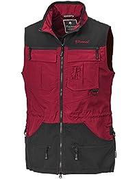 Pinewood Dogsports - Chaleco para hombre rojo rojo oscuro y negro Talla:small