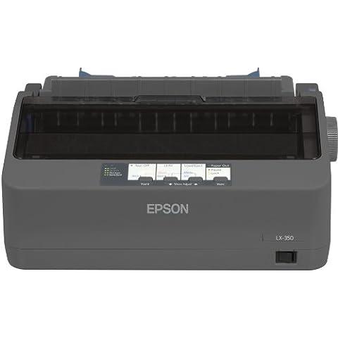 Epson LX 350 - Impresora matricial (puerto paralelo y USB), negro