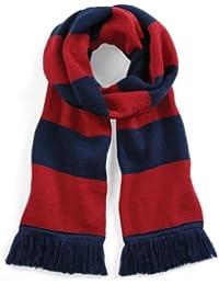 Beechfield - Écharpe rayée tricotée - Adulte unisexe