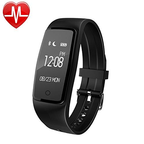 YAMAY-HR3-Fitness-Armband-Uhr-mit-PulsmesserWasserdicht-IP67-Fitness-Tracker-Aktivittstracker-Bluetooth-Smart-Armband-Schrittzhler-fr-iOS-und-Android-Handys