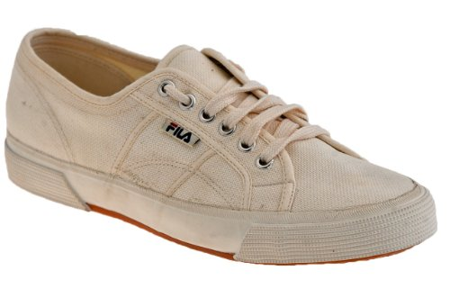 Fila Ville Toile Baskets Basses Neuf Chaussures . Beige