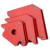 iTimo - Triangolo a forma di freccia, regolatore di posizionamento, saldatura Locatore, magnete forte, utensile elettrico, accessori per saldatura