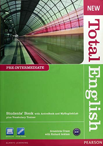 New Total English Pre-Intermediate Students' Book with Active Book andMy
