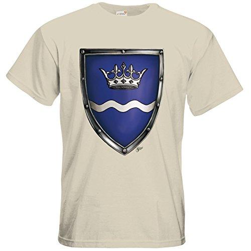 getshirts - Das Schwarze Auge - T-Shirt - Die Siebenwindküste - Wappen - Havena Natural