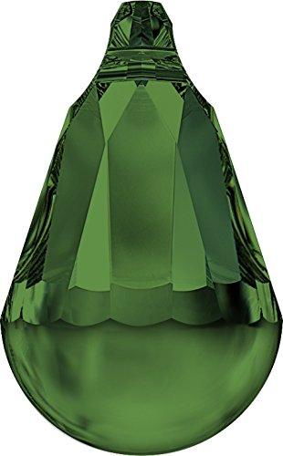 Swarovski Anhänger Elements Cabochette 20.0mm (Fern Green), Restposten, 1 Stück
