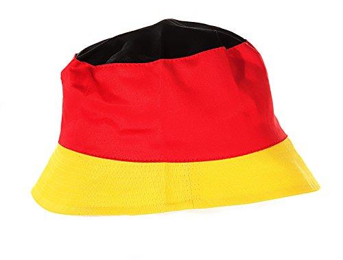 Preis am Stiel 1x Anglerhut Deutschland | Fanartikel Deutschland | WM Fußball