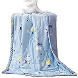 Biancheria da letto estiva per bambini, estiva, estiva, stile rustico vintage. Cotone bambini estate cool è cotone condizionatore è presepe Nickerchen sottile trapunta 1.8 * 2.0m