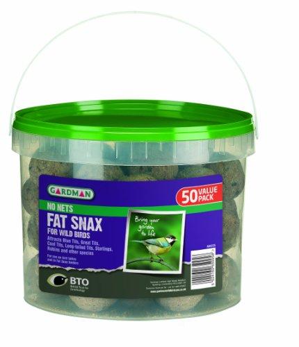 Gardman No net Fat Snax Tub (Pack of 50) 41C4TuXfXqL