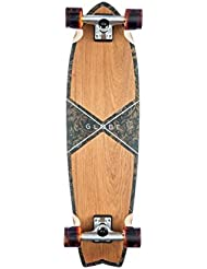 Globe Chromantic Cruiser Skateboard, Unisex adulto, Amarillo (Teak / Floral Couch), Única