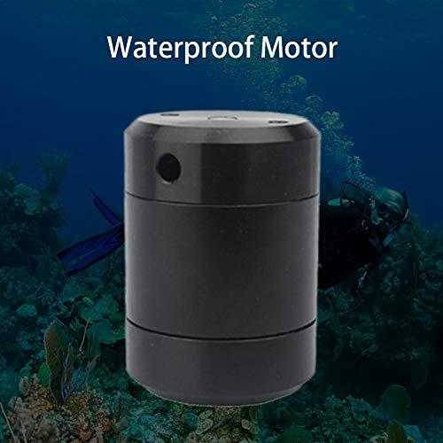 kingpo 2 stücke Mini elektromotor kit wasserdichte hohe Geschwindigkeit geräuscharm für DIY Spielzeug Unterwasser Roboter Unterwasser Drone Propeller Roboter Wissenschaft experimente (4 v Effectual - Elektromotor Bürsten