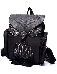 d53dece08b865 GXYCP Schultern Tasche Für Frauen Und Mädchen Peeling Owl College-Stil  Schultasche Mode-Freizeit-Shopping…