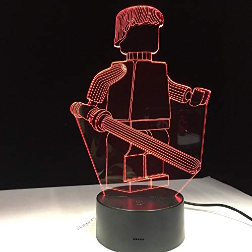 Lámpara Escritorio Robot Oficina Hotel Dormitorio
