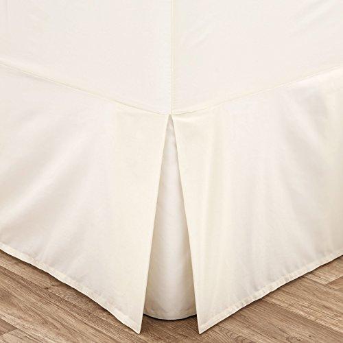Bettvolant, Creme Kingsize-Bett cremefarben 150x200cm