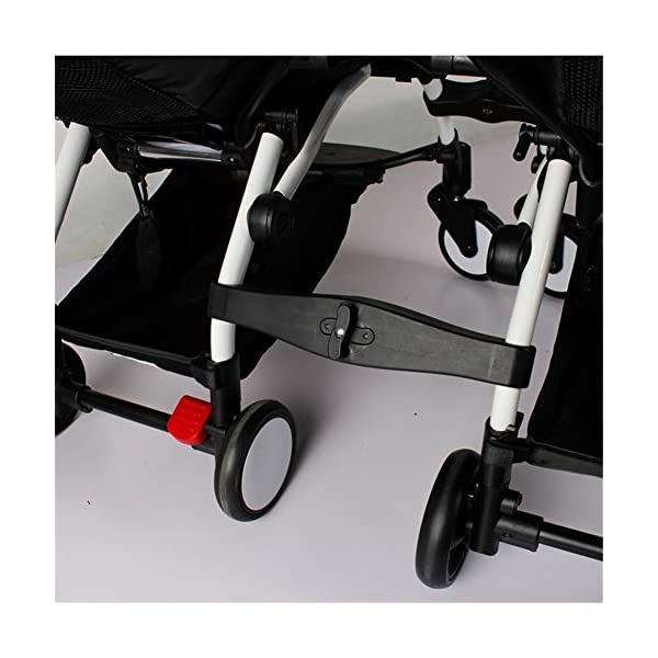 Twins Baby Stroller Connectors Accessories for YOYO Strollers 2-in-1 Dual Stroller Same Stroller  Material:PP Color:Black Weight:600g 2