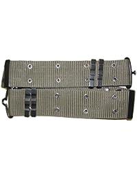 US Army Olive Drab Heavy Duty Pistol Belt, Metal Buckle, 130cm Adjustable