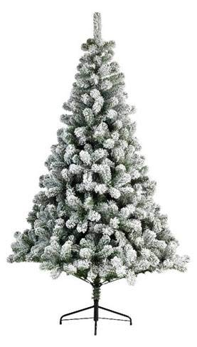 KAEMINGK Milou Imperial Pin Couleur: Vert / Blanc Taille: 150 Christmas Tree 979
