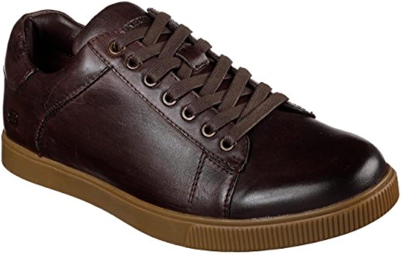 Skechers Volden 65323/CHOC Herrenschuhe Sneaker Braun