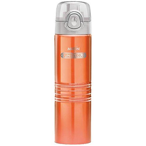 Milton Vogue Stainless Steel Fridge Water Bottle 750ml, Orange