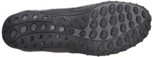 Merrell Sprint Blast, Men's Lace-Up Trainer Shoes – Black/Scarlet, 10.5 UK