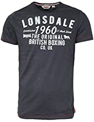 """Lonsdale """"Norwich"""" T-Shirt (anthracite)"""