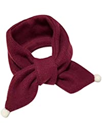 Demarkt Children's Scarves Fashion Girl and Boys solid color Scarves Neckerchief for Autumn And Winter