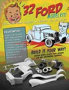 gmp 1 18 ford 1932 rat hot rod cabrio model kit bausatz. Black Bedroom Furniture Sets. Home Design Ideas