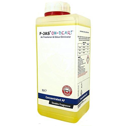 F-JAS Lufterfrischer und Geruchsentferner (1 l Konzentrat), Banana Berry, Double Fragrance -