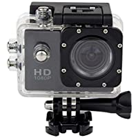HMOV Underwater Digital Camera,12 MP,Other Optical Zoom and 2 Inch Screen - SJ4000(W2)