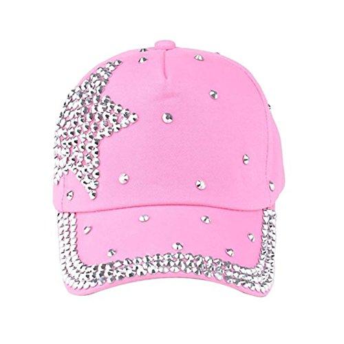 SZTARA - Gorra de béisbol - para mujer rosa Talla única